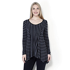 Antthony Designs Contrast Stripe Tunic