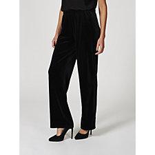 Antthony Designs Velvet Pull On Trousers