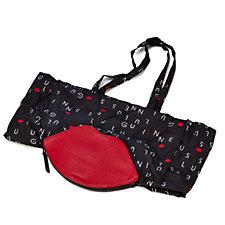 Lulu Guinness Lip Foldaway Shopper Bag