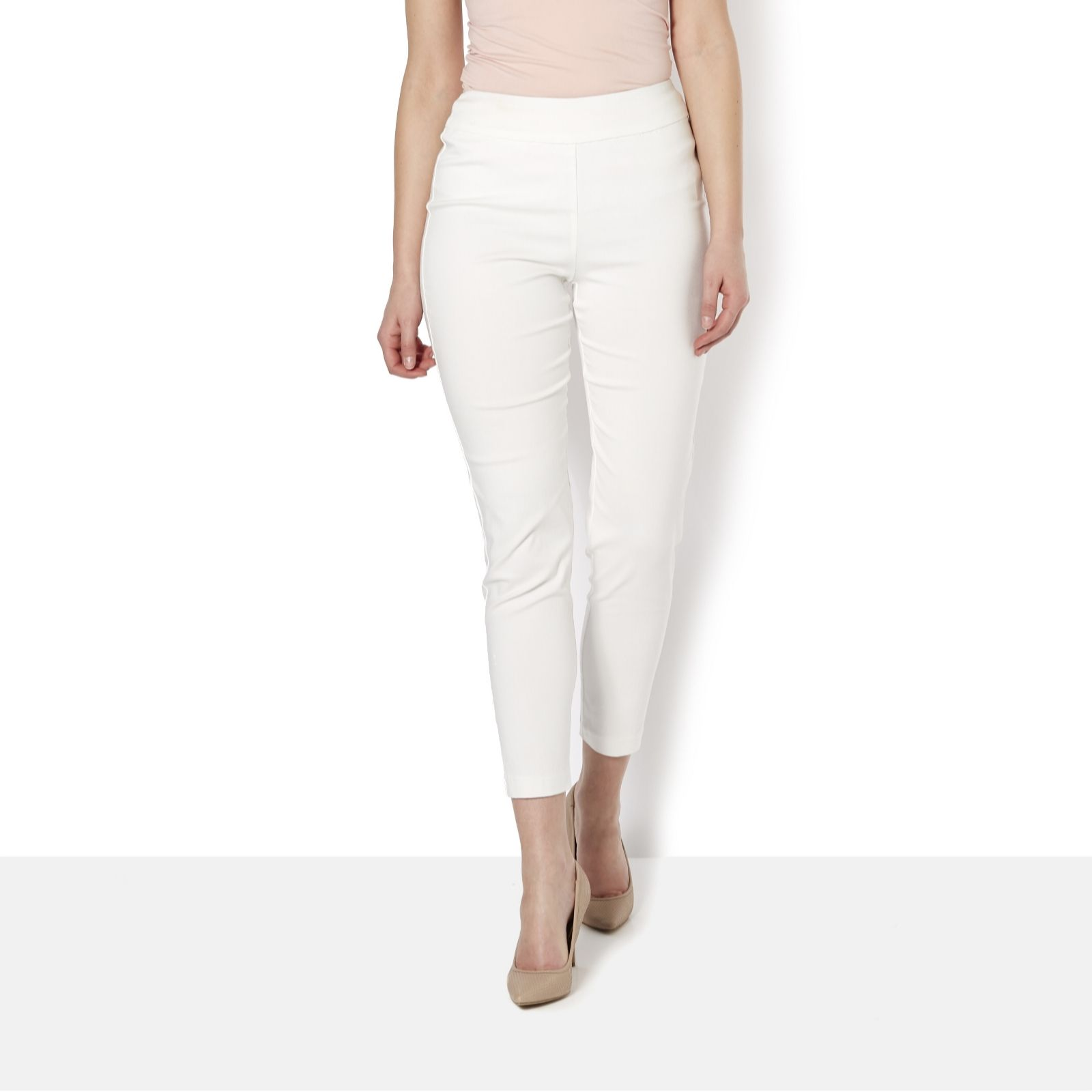 MarlaWynne Flatter Fit with Mesh Panel Trouser - 118754