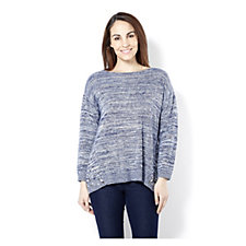 Fashion by Together Jumper with Side Stud Detail