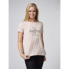 ModernSoul Loungewear Short Sleeve Logo Top