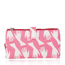 Lulu Guinness The Hug Print Double Make Up Bag