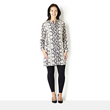 Trinny & Susannah Animal Print Long Shirt