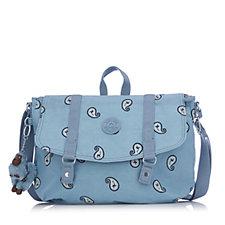 Kipling Abna Medium Satchel Bag with Front Flap & Shoulder Strap