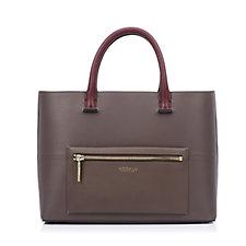 Modalu England Primrose Satara Soft Grain Leather Medium Grab Bag