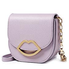 157855 - Lulu Guinness Amy Grainy Leather Handbag
