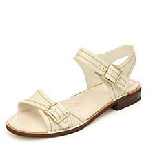 Clarks Cabaret Glitz Two Part Sandal with Buckle
