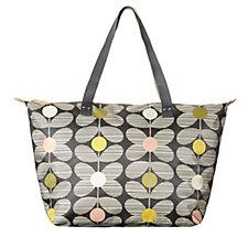 Orla Kiely Zip Top Shopper Bag
