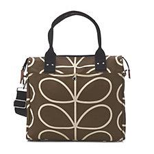 Orla Kiely Giant Linear Stem Zip Messenger Bag