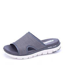 171355 - Skechers Flex Appeal Sparkle Slide Hot Melt Trim Sandals