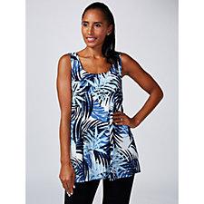 Kim & Co Brazil Knit Sleeveless Tunic