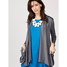 Yong Kim Edge to Edge Deep Pocket Cardigan
