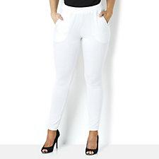 Yong Kim Modal Slim Fit Pull-on Trouser