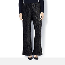 Animal Foil Trousers by Michele Hope