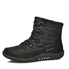 Skechers Reggae Fest Vector Quilted Lace Up Boot