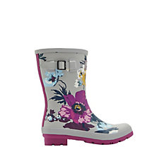 Joules Mid Height Printed Molly Wellly