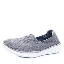 Skechers Sport Equalizer Dream On Woven Slip On Shoe with Memory Foam