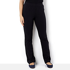 Isaac Mizrahi Live Soho Bootcut Double Knit Trousers