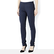 Join Clothes Jersey Stretch Denim Look Slim Leg Trouser