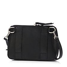 159457 - Tignanello Bella Pebble Leather Belt Bag with Crossbody Strap
