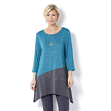 Grace Scattered Stud Tunic & Necklace