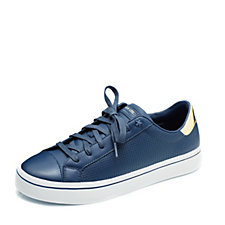 Skechers Street Hi Lite Leather Lace Up Trainer
