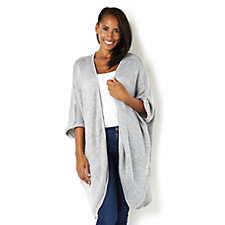 Join Clothes Knitted Edge To Edge Jacket