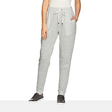 158258 - AnyBody Loungewear French Terry Banded Cuff Jogging Pant