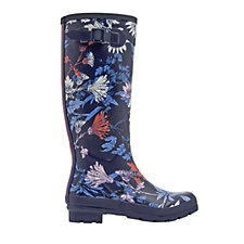 Joules Tall Matte Field Welly Side Gusset