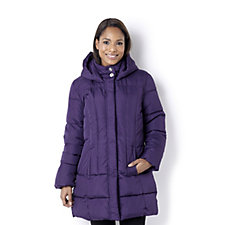 Centigrade Water Resistant Super Soft Fill Washable Hooded Coat