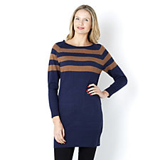 Marble Stripe Top Tunic