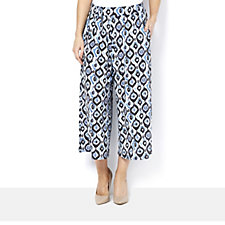 Join Clothes All Over Print Crop Trousers