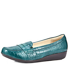 Vitaform Stretch and Patent Leather Loafer