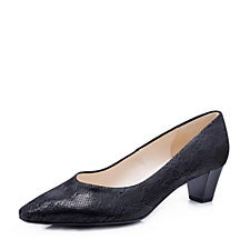 Peter Kaiser Stacked Heel Court Shoe