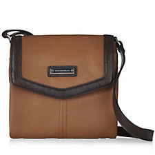 Tignanello Lexington Soft Pebble Leather Crossbody Bag with RFID Protection