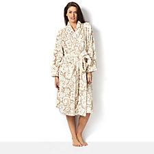 Cozee Home Velvet Soft Fleece Dressing Gown