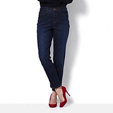 Denim & Co. 5 Pocket Ankle Length Jean Regular