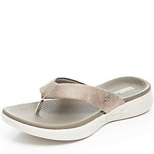 Skechers On The GO 600 Polished 3 Point Perform Tex Sandal