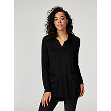 Antthony Designs Long Sleeve Tunic with Front Pockets
