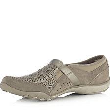 Skechers Active Breathe Easy Slip On Shoe w/ Crochet Mesh Detail