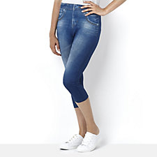 Slim 'n Lift Capri Caresse Jeans