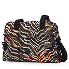 Kipling Premium Tanguay Zip Top Medium Handbag with Front Pocket
