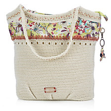 The Sakroots Artist Circle Large Crochet Tote Bag