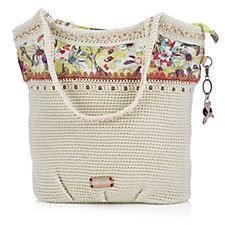 159461 - The Sakroots Artist Circle Large Crochet Tote Bag