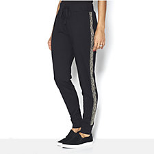 Logo by Lori Goldstein French Terry Lounge Jogger Trouser