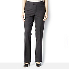 H by Halston Regular Length Flare Stretch Trousers
