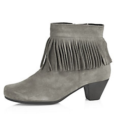 Vitaform Suede Leather Ankle Boot