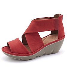 Clarks Clarene Glamour Wedge Heel Sandal Wide Fit