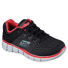 Skechers Kids Equalizer 2.0 Post Season Lace Up Trainer